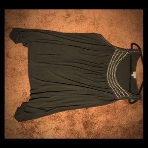Fashion Bug black dressy tank top